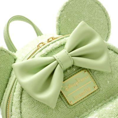 Mini zaino Minni paillettes collezione Mint Loungefly