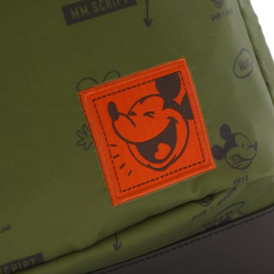 Disney Store Mickey Mouse Disney Artist Series Khaki Backpack