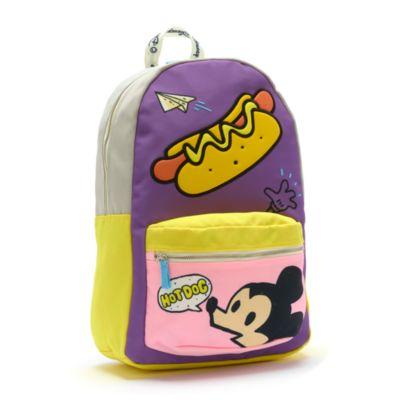 Disney Store Sac à dos Mickey multicolore, collection Disney Artist