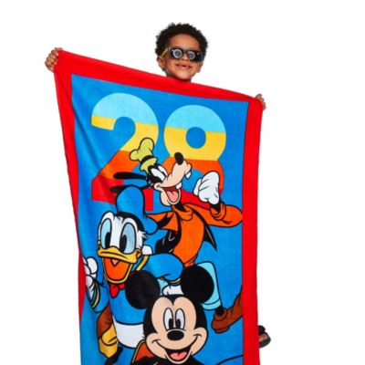 Toalla clásica para playa Mickey y sus amigos, Disney Store