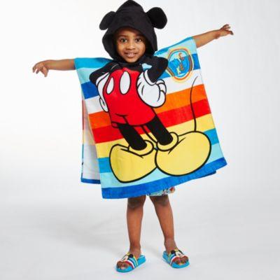 Disney Store Serviette à capuche Mickey pour enfants