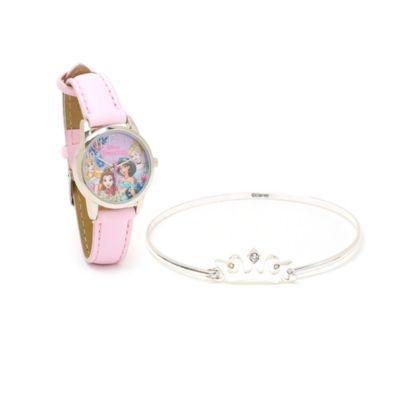 Disney Store Ensemble cadeau Princesses Disney montre et bracelet