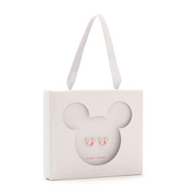 Disney Store Clous d'oreilles Mickey avec pierre d'octobre