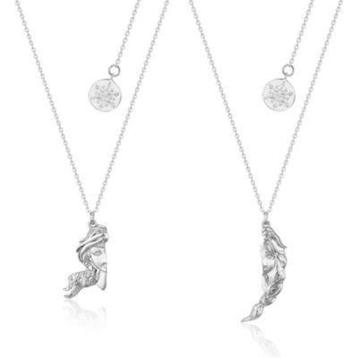 Couture Kingdom Anna and Elsa Friendship Necklace Set