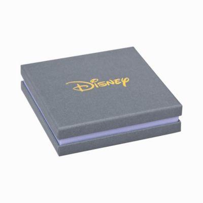 Couture Kingdom Clous d'oreilles Mickey en plaqué or blanc