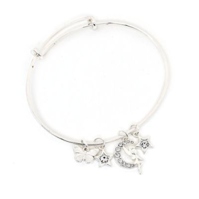 Disney Store Tinker Bell Silver-Plated Bangle
