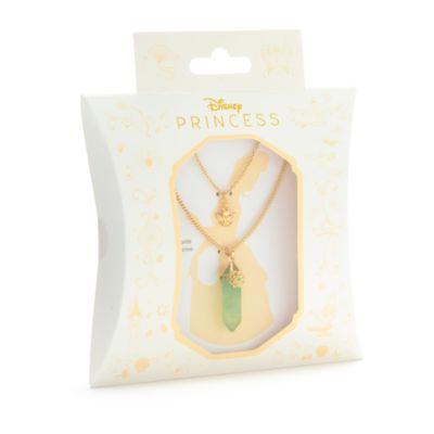 Disney Store - Küss den Frosch - Tiana - Halskette mit Anhänger aus Fluorit für Erwachsene