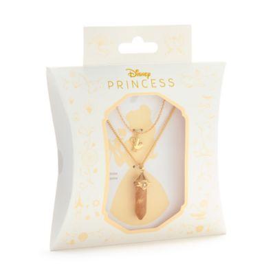 Disney Store - Die Schöne und das Biest - Belle - Halskette mit Anhänger aus Citrin für Erwachsene