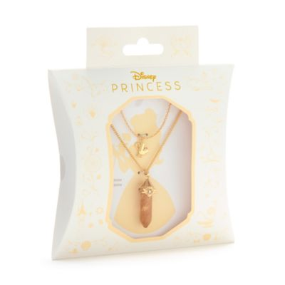 Disney Store Belle Citrine Necklace For Adults, Beauty and the Beast