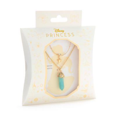 Disney Store Collier Jasmine en amazonite pour adultes, Aladdin