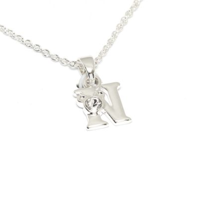 Disney Store Mickey Mouse 'N' Initial Necklace