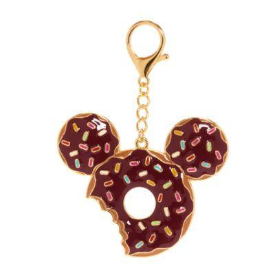 Disney Store Mickey Mouse Doughnut Bag Charm