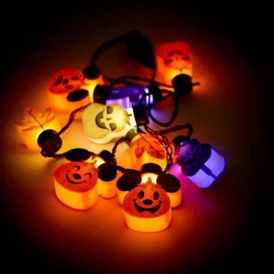 Disney Store - Micky Maus - Kürbis-Halskette mit Leuchteffekt