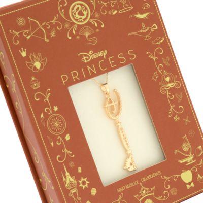 Disney Store Collier à pendentif Clé Princesses Disney
