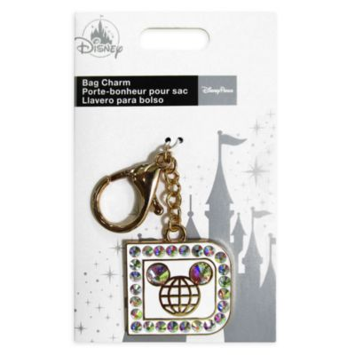 Disney Store Rhinestone Mickey Mouse Bag Charm