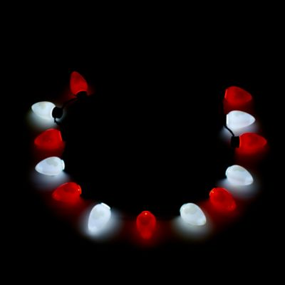 Disney Parks Mickey Mouse Holiday Glow Light-Up Necklace