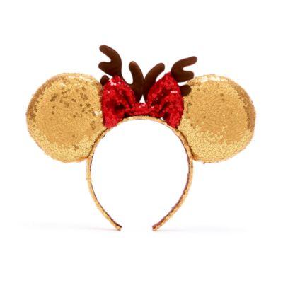 Disney Store Minnie Mouse Festive Ears Headband For Kids