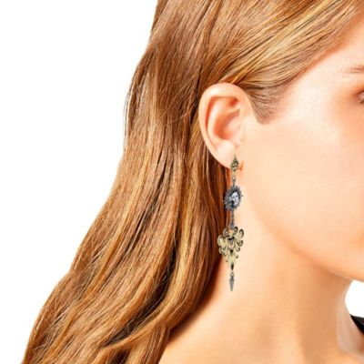 Betsey Johnson The Haunted Mansion Chandelier Earrings