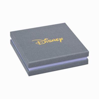 Couture Kingdom Pendants d'oreilles Mickey Mouse plaqués or blanc