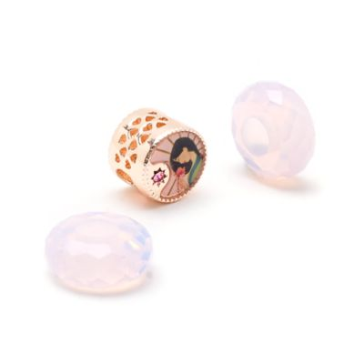 Disney Store Ensemble de perles Mulan Disney Princess Charm, Juillet