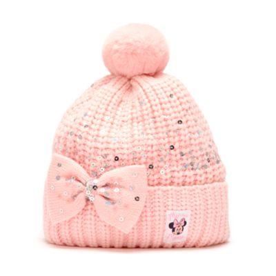 Disney Store Bonnet tricoté Minnie pour adultes