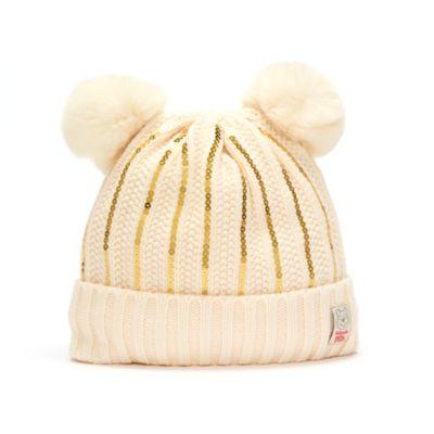 Disney Store Bonnet en tricot Winnie l'Ourson pour adultes