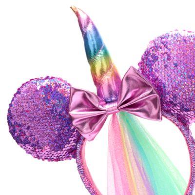 Diadema unicornio con orejas Minnie Mouse para adultos, Walt Disney World