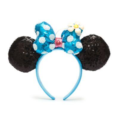 Walt Disney World Minnie Mouse Flower Ears Headband for Adults