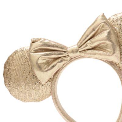 Walt Disney World Minnie Mouse Champagne Ears Headband for Adults