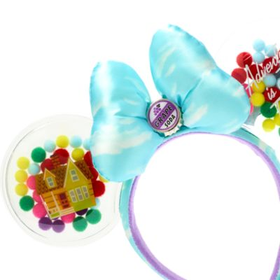 Walt Disney World Up Minnie Mouse Ears Headband for Adults