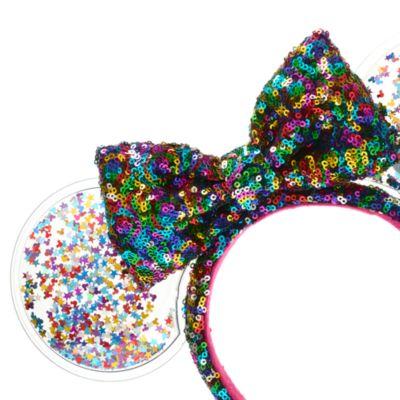 Walt Disney World Minnie Mouse Celebration Sequin Ears Headband for Adults