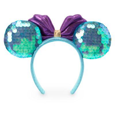Walt Disney World Serre-tête à oreilles de Minnie La Petite Sirène pour adultes