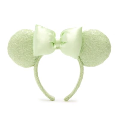 Walt Disney World diadema con orejas Minnie Mouse para adultos, Mint
