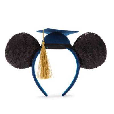Walt Disney World - Micky Maus - Schul- oder Studienabschluss-Kollektion 2021 - Haarreif mit Ohren für Erwachsene