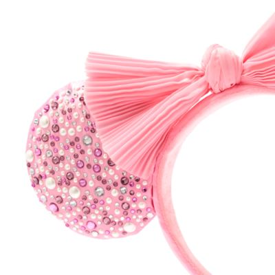 BaubleBar Minnie Mouse Blush Ears Headband For Adults