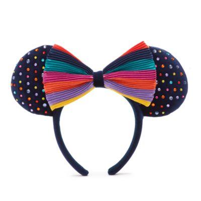 Cerchietto adulti orecchie arcobaleno Minni Walt Disney World