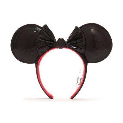 DisneylandxAshley Eckstein Serre-tête à oreilles de Minnie Dark Vador pour adultes, Star Wars