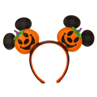 Disneyland Serre-tête à oreilles de Mickey lanternes citrouilles pour adultes