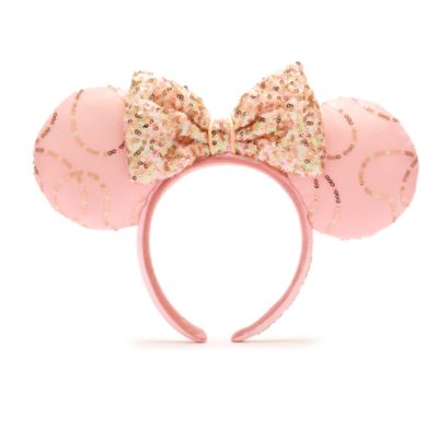 Disney Parks Minnie Mouse Bibbidi Bobbidi Boutique Ears Headband For Adults