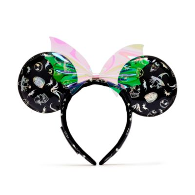 Loungefly The Nightmare Before Christmas Minnie Mouse Ears Headband For Adults