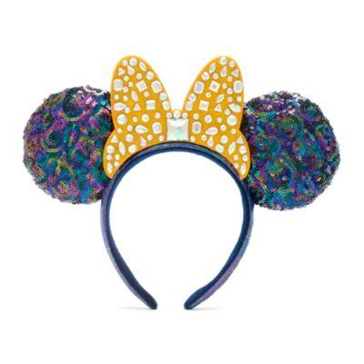 Walt Disney World - 50th Anniversary - Minnie Maus - Haarreif mit Ohren für Erwachsene