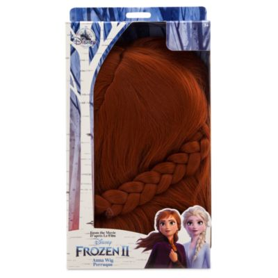 Peluca disfraz infantil Anna, Frozen 2, Disney Store