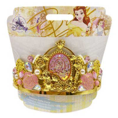 Tiara disfraz dorada Bella, La Bella y la Bestia, Disney Store