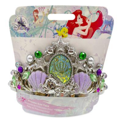 Tiara disfraz tonos plata Ariel, La Sirenita, Disney Store