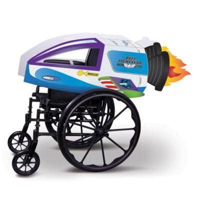 Disney Store Buzz Lightyear Star Command Spaceship Wheelchair Cover Set