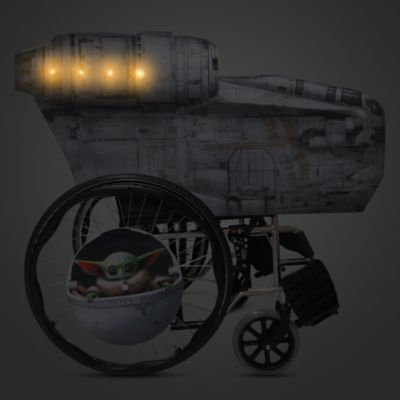 Disney Store Razor Crest Wheelchair Cover Set, Star Wars: The Mandalorian