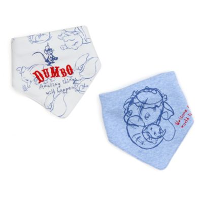 Disney Store Lot de 2bavoirs Dumbo