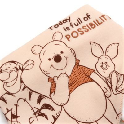 Disney Store Winnie the Pooh and Friends Baby Bibs, 2 Pack