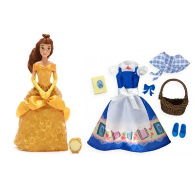 Disney Store Belle Doll and Accessories Collection, Beauty and the Beast
