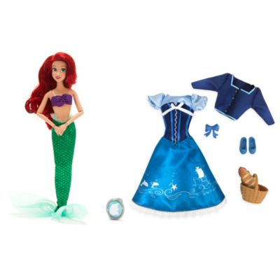 Disney Store Ariel Doll and Accessories Collection, The Little Mermaid